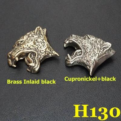 H130 Brass Leopard Conchos 24x31mm 1pc/bag