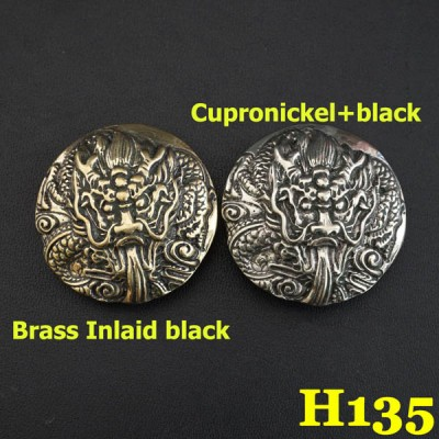 H135 Western Cowboy Decor Conchos 37mm 1pc/bag
