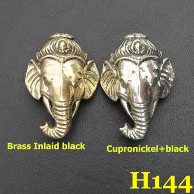 H144 Metal Conchos 24.5x34.5mm 1pc/bag