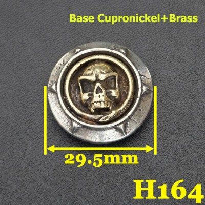 H164 Conchos With Screw 29.5mm 1pc/bag