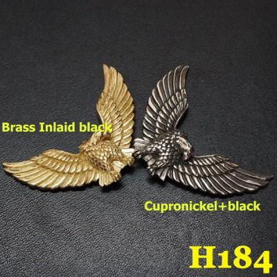 H184 Custom Concho 47.5x30.5mm 1pc/bag