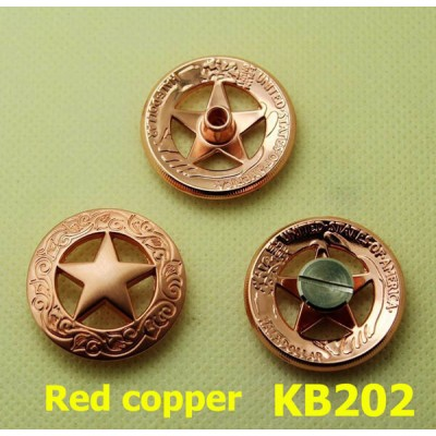 KB202 Big Sizetexas Pentagonal Conchos 28mm 1pc/bag