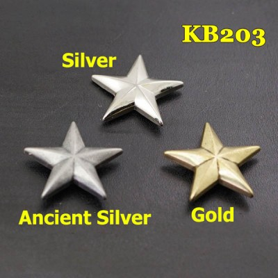 KB203 Pentagonal Conchos 26mm 1pc/bag