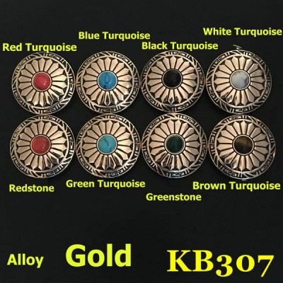 KB307 Rhinestone Conchos Wholesale 30mm 1pc/bag