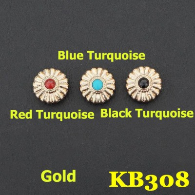 KB308 Custom Bling Conchos 16.5mm 1pc/bag