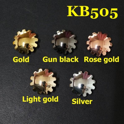 KB505 Leather Conchos 19mm 1pc/bag