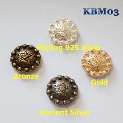 KBM03 Berry Conchos 25mm 1pc/bag