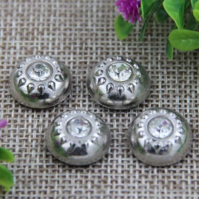 G003 Dome Diamond Rivet 15mm 100pcs/bag