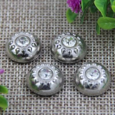 G003 Dome Diamond Rivet 15mm 100pcs/bag
