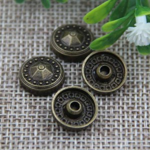 G008 Convex Flower Rivet 12mm 100pcs/bag