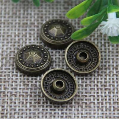 G008 Convex Flower Rivet 12mm 100pcs/bag