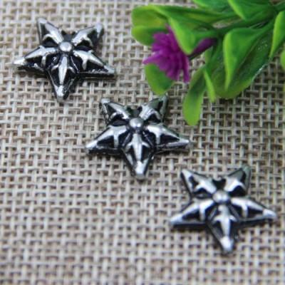 G013 Pentagram Flower Rivet 16mm 100pcs/bag