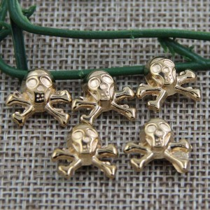 G023 Skull Rivet 15mm 100pcs/bag