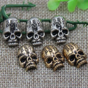 G034 Skull Rivet 20x14mm 100pcs/bag