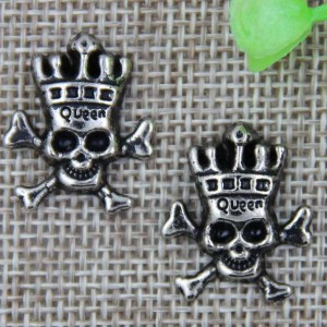 G038 Skull Rivet 21x17mm 100pcs/bag