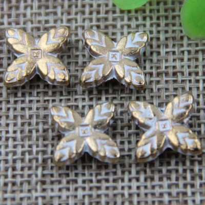 G041 Four Leaves Rivet 11mm 100pcs/bag