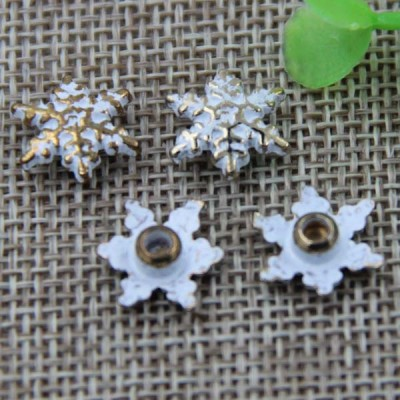 G051 Snowflake Rivet 12mm 100pcs/bag