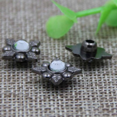 G053 Flower Diamond 12mm 100pcs/bag
