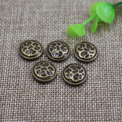 G054 Leopard Print Rivet 15mm,12mm 100pcs/bag