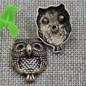 G061 Owl Rivet 28x20mm 100pcs/bag
