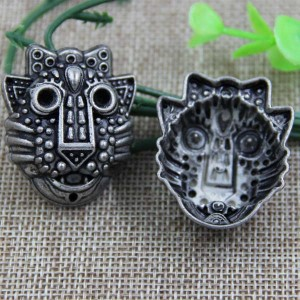 G069 Owl Sew Spikes 38x32mm 100pcs/bag