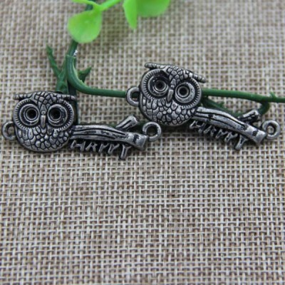 G077 Owl Sew Spikes 40x16mm 100pcs/bag