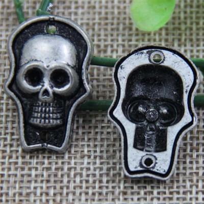 G090 Skull Sew Spikes 28x18mm 100pcs/bag