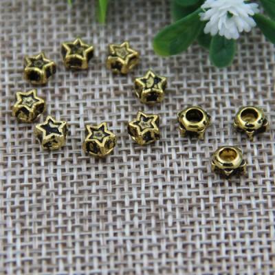 G108 Small Pentagram Customized Denim Jean Button Rivets 5mm 1000pcs/bag
