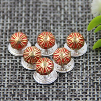 G110 Pumpkin Customized Denim Jean Buttons 5mm 1000pcs/bag