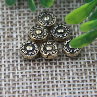 G112 Metal Chinese Denim Jeans Button Rivets 6mm 1000pcs/bag
