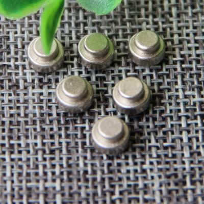 G115 Convex China Denim Jeans Rivet Buttons 6mm 1000pcs/bag