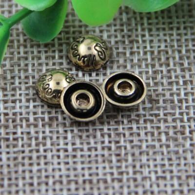 G117 Dome China Denim Jeans Rivets 8mm 1000pcs/bag