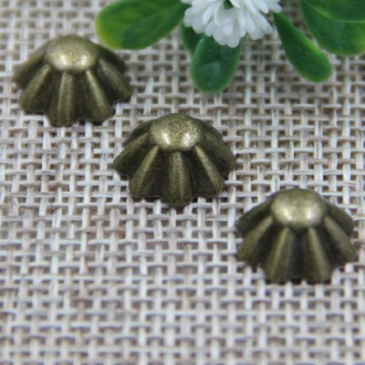 G124 Straw Hat Decorative Denim Button Rivets 10mm 1000pcs/bag