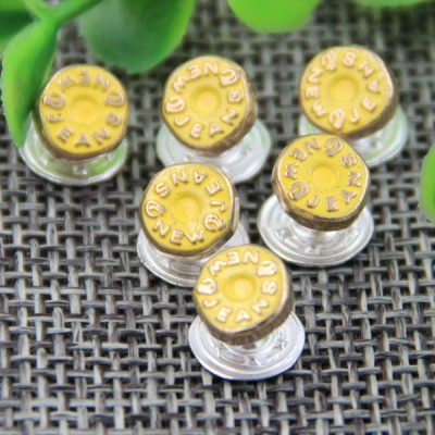 G129 Concave English Garment Denim Rivets 7mm 1000pcs/bag