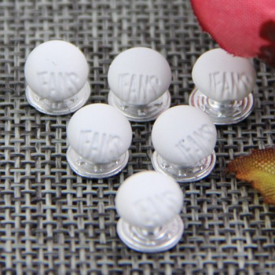 G132 Dome Denim jeans Button Rivets 8mm 1000pcs/bag