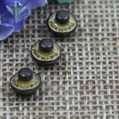 G135 Convex Customized Demin Rivet Buttons 7mm 1000pcs/bag