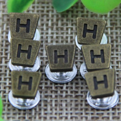 G137 Trapezoid Customized Demin Rivets 7mm 1000pcs/bag