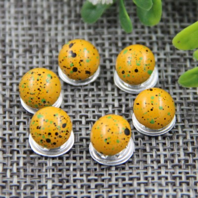 G142 Mushroom Customized Jean Buttons 8mm 1000pcs/bag