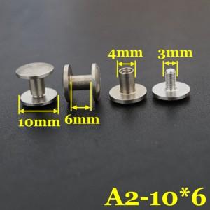 black stainless screws