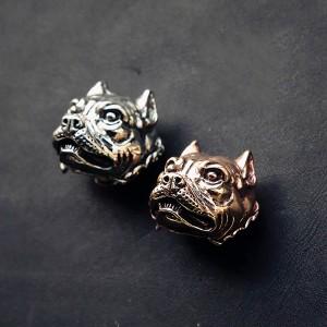 NA013 Doghead Bulldog 22x20mm