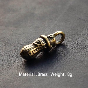 NA002 Japanese Brass Peanuts 23.5mm