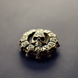 Conchos with Chicago Screw Back