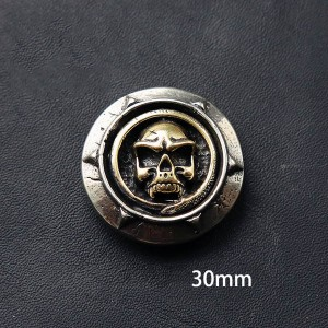 NA028 Brass Conchos For Sale 30mm