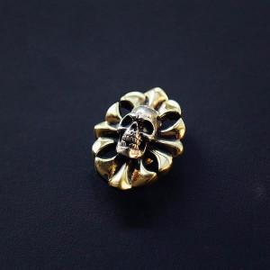 NA085 Skull conchos 20x28mm