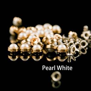 Pearl stud rivets