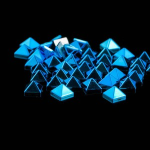 UV plating pyramid rivet