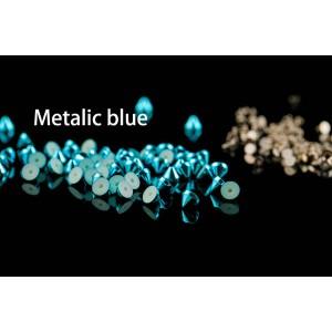 Matlic blue color cone head rivets