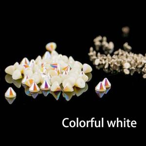 Colorful white  cone rivets
