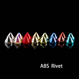 ABS plastic cone  rivets