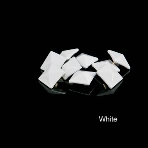 White color pyramid rivet